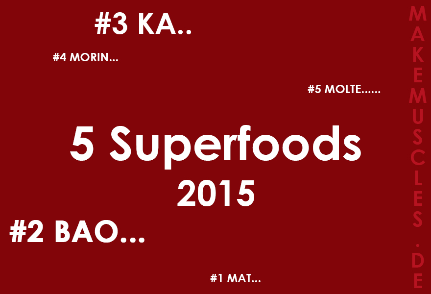 5 Superfoods 2015