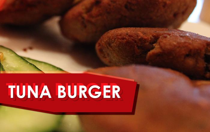Gegrillte Thunfisch-Burger Rezept