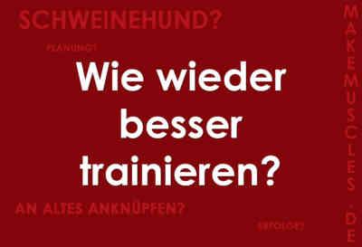 So trainierst du nach einer Trainingspause wieder besser!