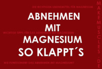 Abnehmen mit Magnesium