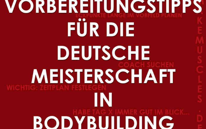 deutsche Meisterschaft Bodybuilding