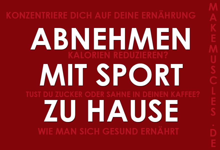Sport zu hause